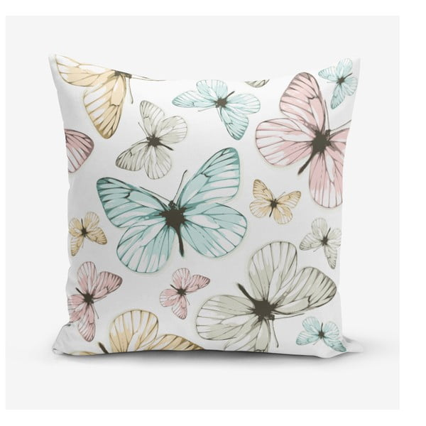 Față de pernă Minimalist Cushion Covers Butterfly, 45 x 45 cm