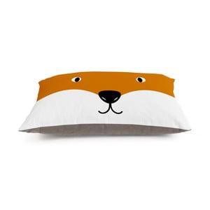 Dětský polštář na hraní Little Nice Things Fox, 80 x 60 cm
