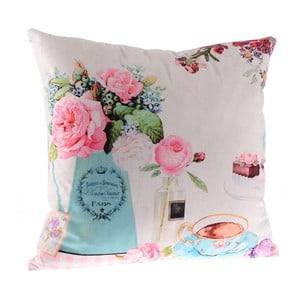 Polštář Rose in Pink, 45x45 cm