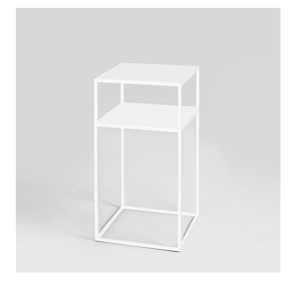 Tensio fehér többszintes tárolóasztal, 30 x 30 cm - Custom Form
