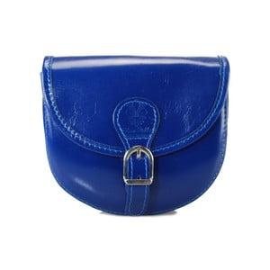Sytě modrá kabelka z pravé kůže GIANRO' Trudo