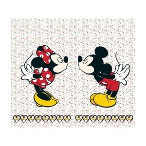 Foto závěs AG Design Mickey & Minnie, 160x180cm