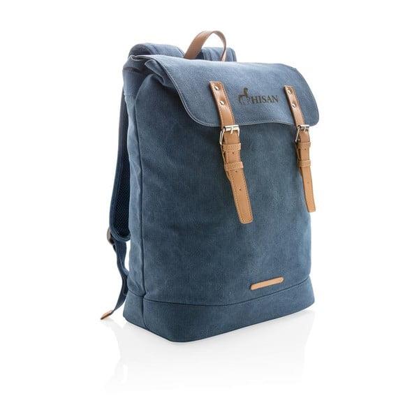 """Kék vászon táska 15,6"""" laptophoz, 19 l - XD Collection"""