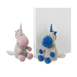 Sada 2 zarážek do dveří ve tvaru jednorožce Unimasa Unicorn