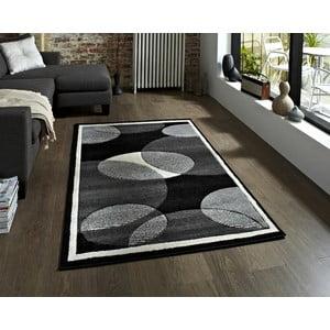 Šedý koberec Think Rugs Art Twist Grey, 160x220cm