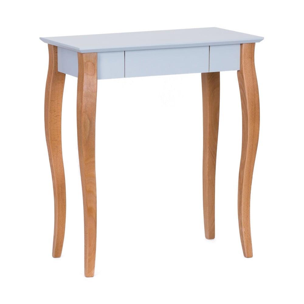 Světle šedý psací stůl Ragaba Lillo, délka 65 cm