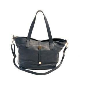 Tmavě modrá kabelka z pravé kůže Andrea Cardone Matteo