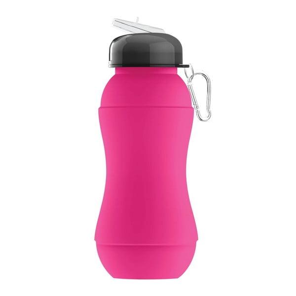 Revoluční sportovní lahev Sili-Squeeze, růžová, 700 ml