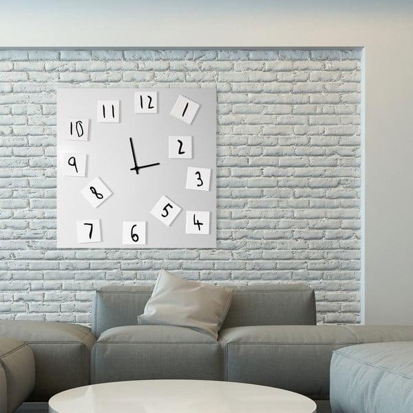 Nástěnné hodiny Changing Clock, 80x80 cm