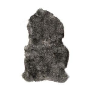 Blană de oaie cu fir lung, Dark Tops,  90 x 60 cm, gri