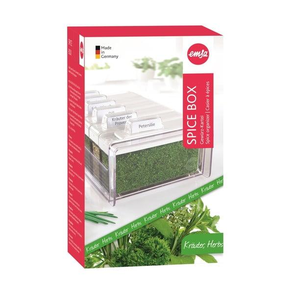 Box na koření s 6 přihrádkami Spice Box, na bylinky