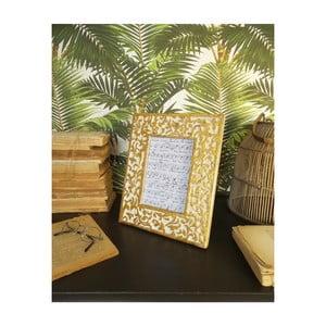 Sada 2 rámečků z mangového dřeva Orchidea Milano Ramage, výška 28 cm