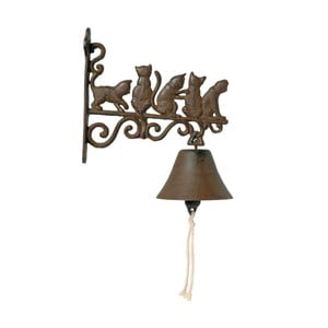 Nástěnný domovní zvonek AnticLine Cats