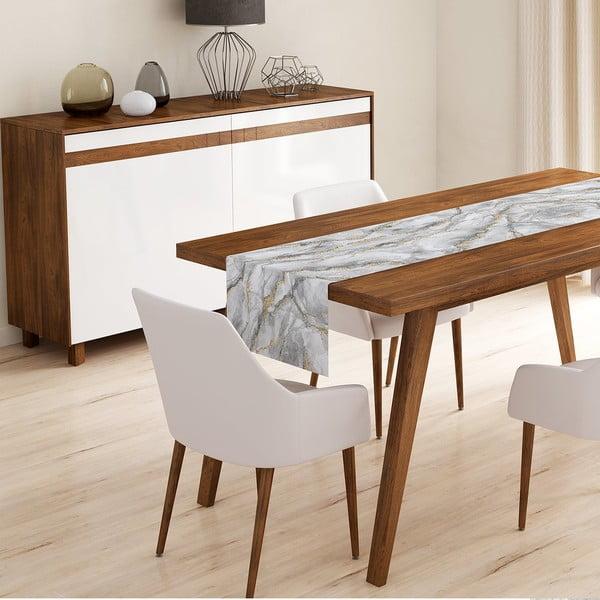 Napron din microfibră pentru masă Minimalist Cushion Covers Cassia, 45 x 145 cm