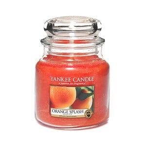 Vonná svíčka Yankee Candle Pomerančová Šťáva, doba hoření 65 - 90 hodin