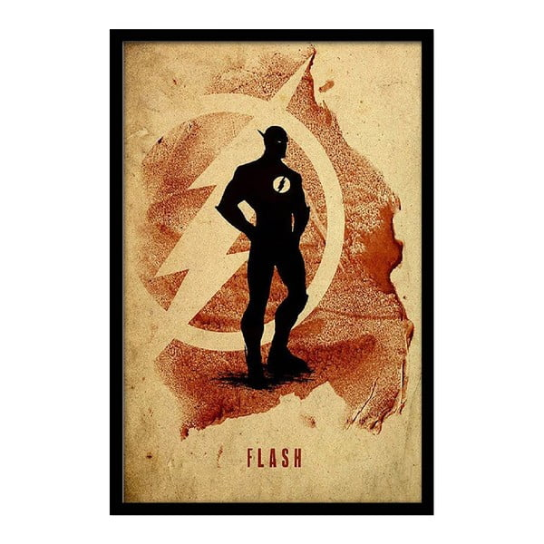 Plakát Vintage Flash, 35x30 cm