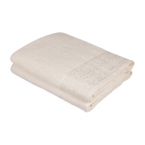Sada 2 ručníků z čisté bavlny Bobby, 90 x 150 cm