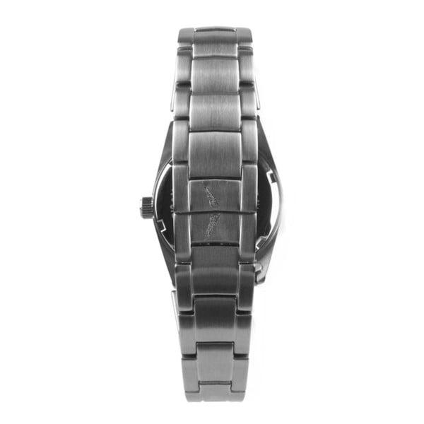 Unisex hodinky stříbrné barvy s černým ciferníkem Zadig & Voltaire Scully, 33 mm