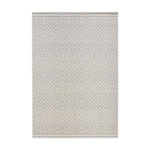 Šedý koberec vhodný do exteriéru Bougari Karo, 200x290cm