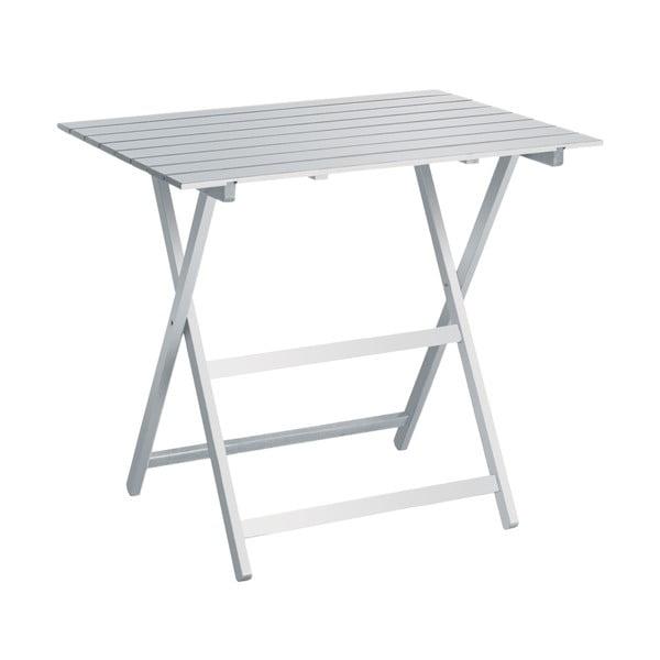 Bílý skládací stůl Colombo New Scal King, 60x80cm