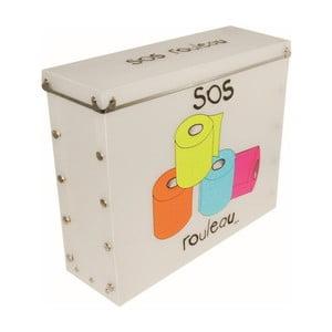 Úložný box na toaletní papír Incidence SOS Rouleau
