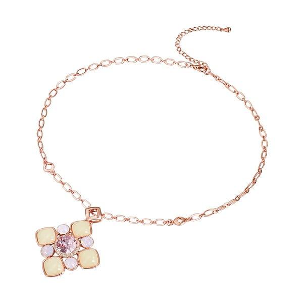 Náhrdelník se Swarovski Elements Rose Water Opal