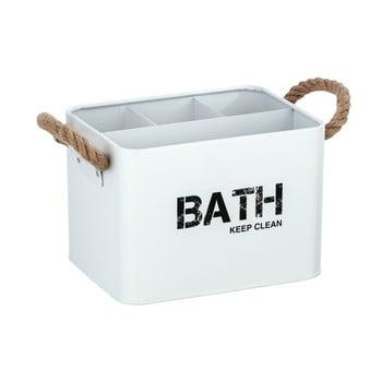 Cutie pentru baie Wenko Gara, alb