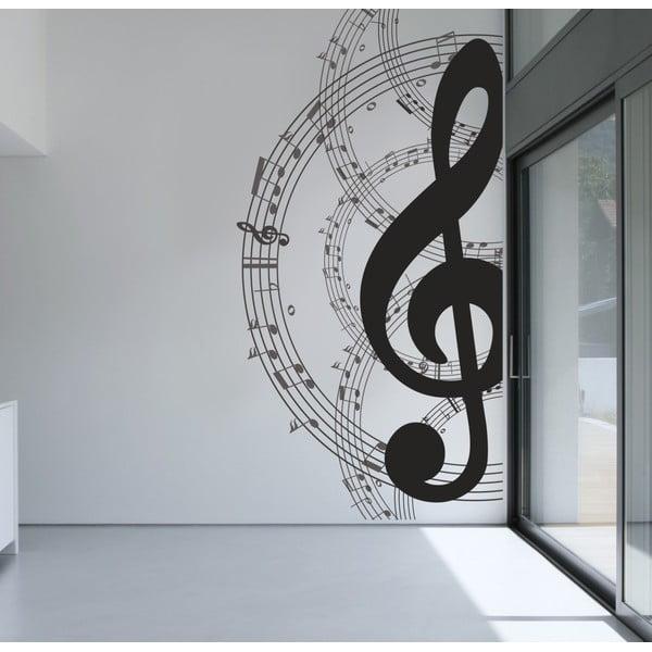 Samolepka na stěnu Nota, 60x90 cm