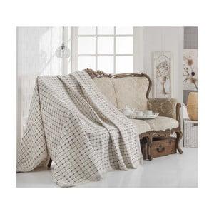 Bavlněná deka Cover Ekose, 180 x 230 cm