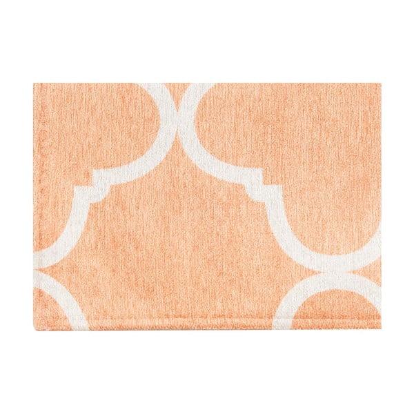 Vysoce odolný kuchyňský koberec Webtappeti Trellis Apricot,130x190cm