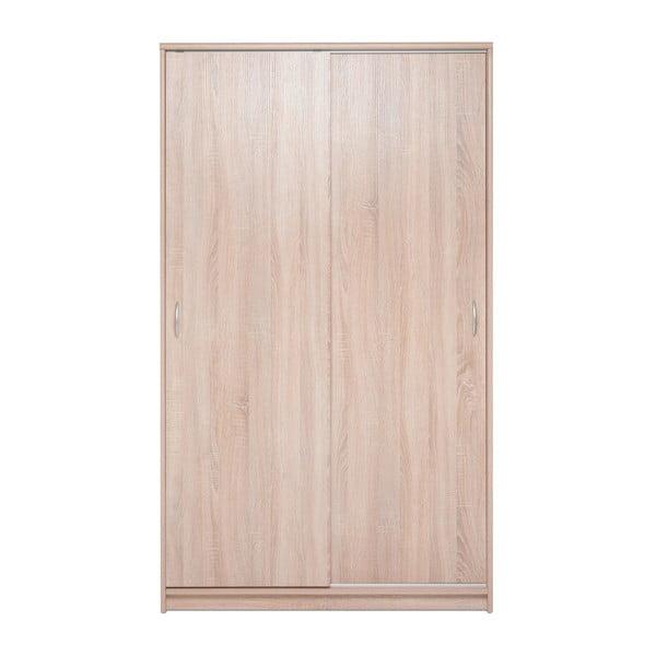 Szafa z dekorem drewna dębowego z 2 drzwiami przesuwnymi Intertrade Kiel, szerokość 109cm