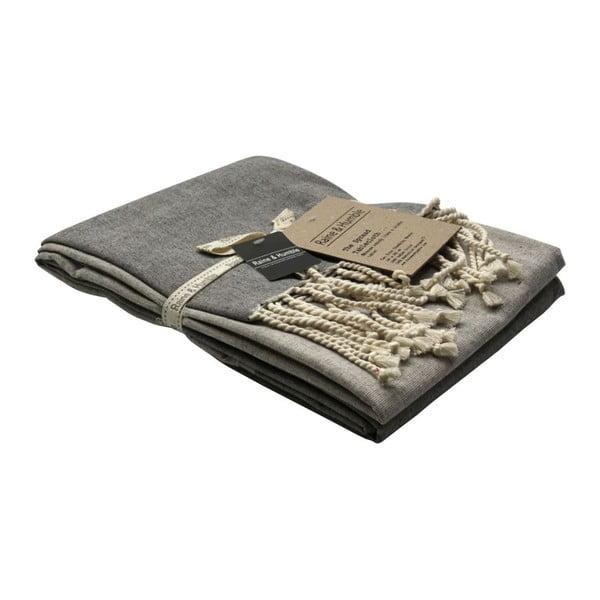 Ubrus Spread Charcoal, 140x285 cm