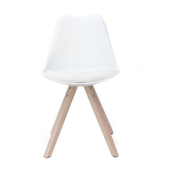 Bílá židle LABEL51 Milan