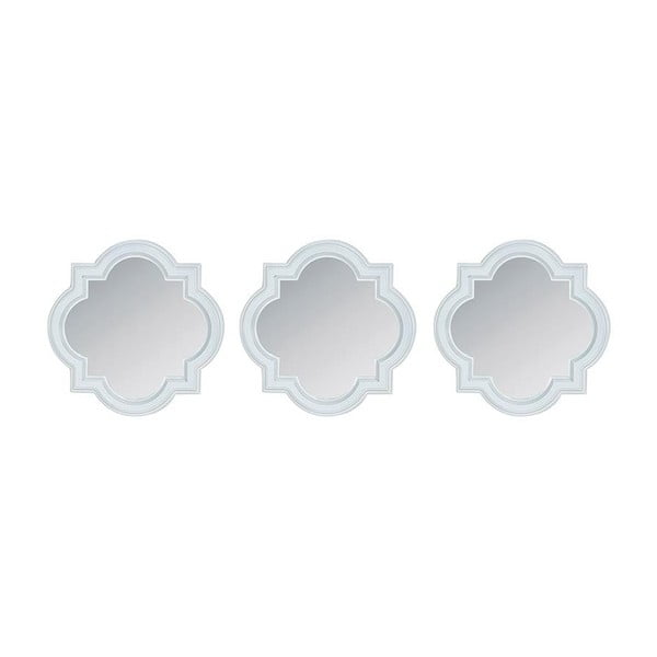 Set plastových zrcadel InArt Romantic, 3 ks