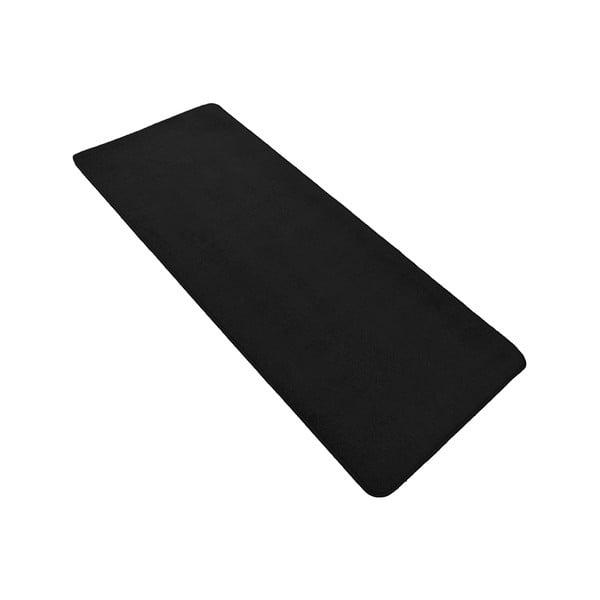 Černý běhoun Hanse Home Nasty, 80 x 200 cm