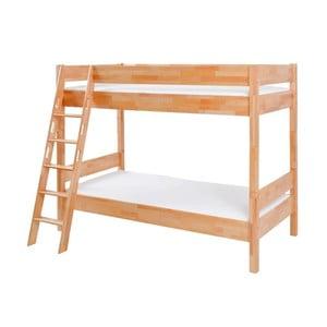 Dětská palanda z masivního bukového dřeva Mobi furniture Erik, 200x90cm