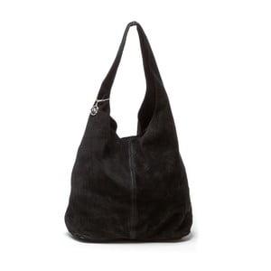Černá kožená kabelka Roberta M Perlita