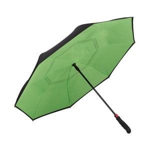 Zelený golfový deštník Von Lilienfeld Remy FlicFlac