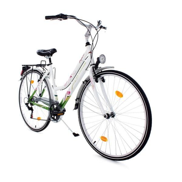 "Kolo City Bike Papilio White, 28"", výška rámu 48 cm"