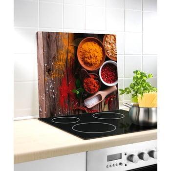 Protecție din sticlă pentru aragaz Wenko Spice, 50 x 56 cm imagine