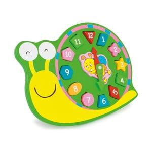 Dřevěné cvičné hodiny Legler Snail