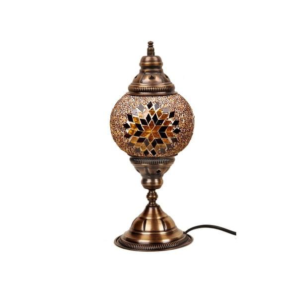 Stolní skleněná lampa Homemania Mosaic , ⌀15cm