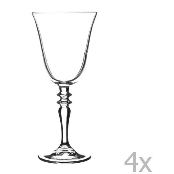 Sada 4 sklenic na červené víno Avalon, 270 ml