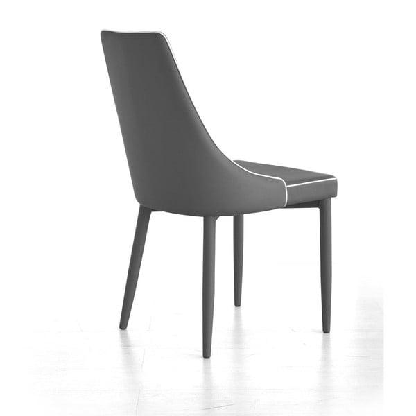 Jídelní židle Plana, šedá