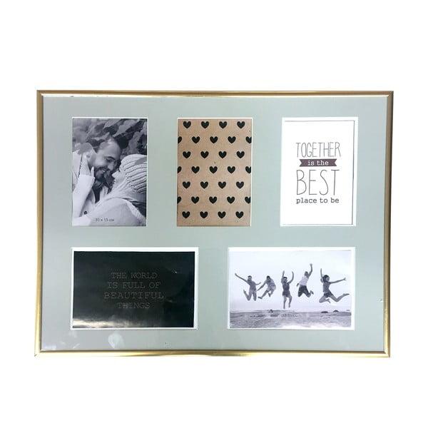 Zlatý rámeček na pět fotografií Maiko