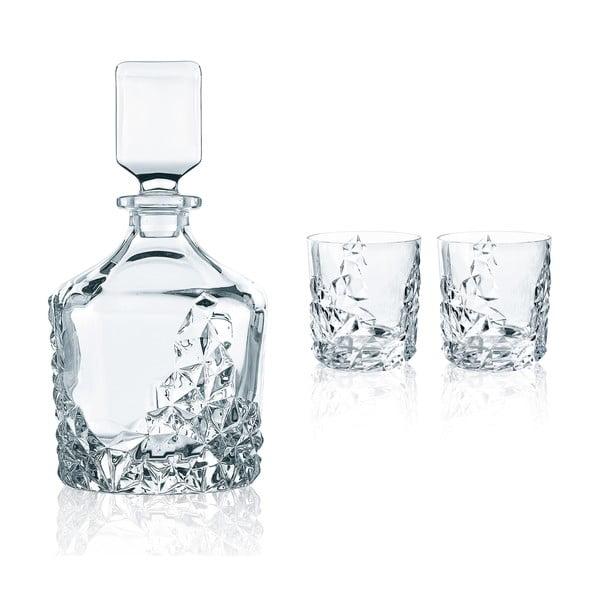 Komplet do whisky ze szkła kryształowego Nachtmann Sculpture Whisky Set