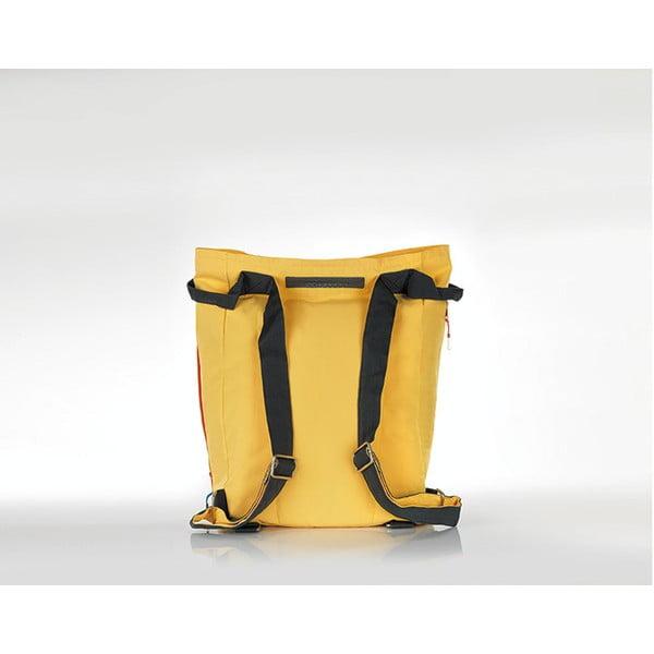 Plážová taška/batoh Tane Kopu 28 l, žlutá