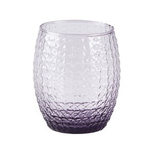 Fialová sklenice Galzone Palet, 350 ml