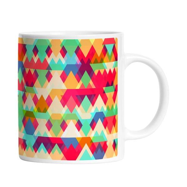 Hrnek Mixed Triangles, 330 ml