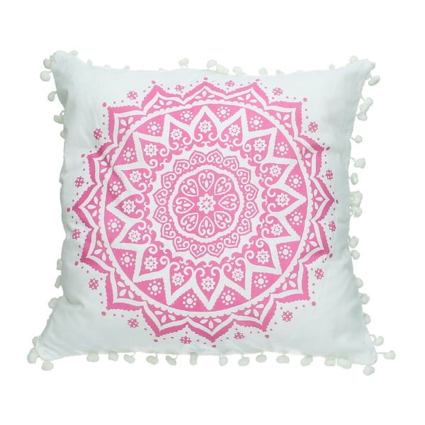 Povlak na polštář Fabric Pink, 40x40 cm
